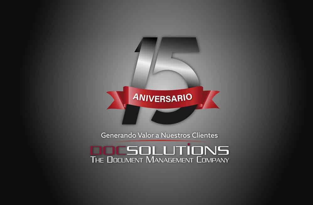 <b>DocSolutions</b> celebra 15 años de trayectoria
